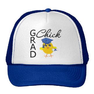 Grad Chick (Blue Cap) Hats