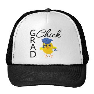 Grad Chick (Blue Cap) Mesh Hats