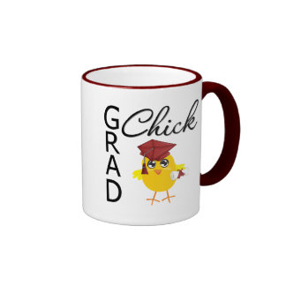 Grad Chicks (Burgundy Cap) Coffee Mugs