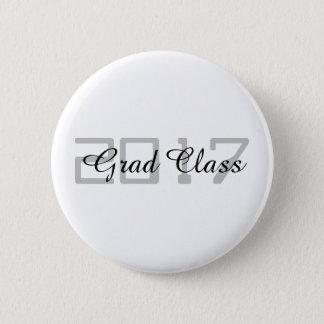 Grad Class 2017 - 6 Cm Round Badge