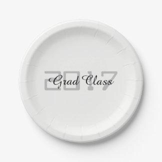 Grad Class 2017 - Paper Plate
