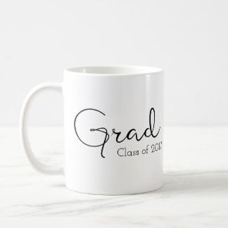 Grad (Graduate) Mug, Class of Coffee Mug