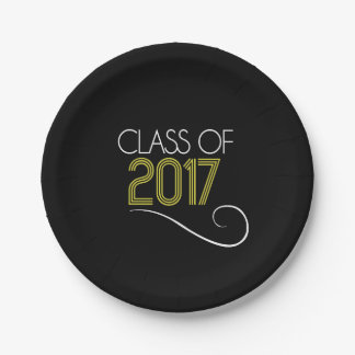 Grad Party Plate - 2017