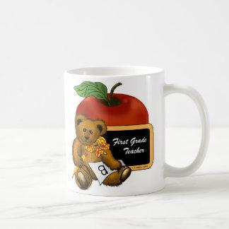 Grade 1 Teacher Bear Coffee Mug