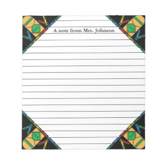 Grade School Teachers Notepad
