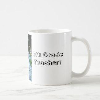 Grade Teacher cup Mugs gifts Teachers Hydrangeas