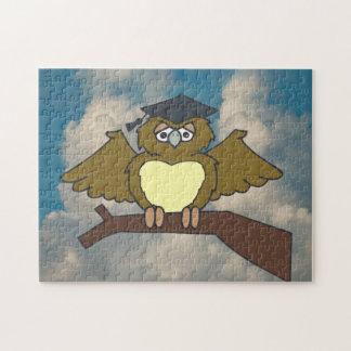 Gradiate Owl Jigsaw Puzzle