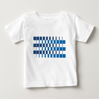 Gradient Blue Baby T-Shirt