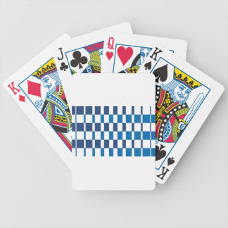Gradient Blue Bicycle Playing Cards