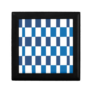 Gradient Blue Small Square Gift Box