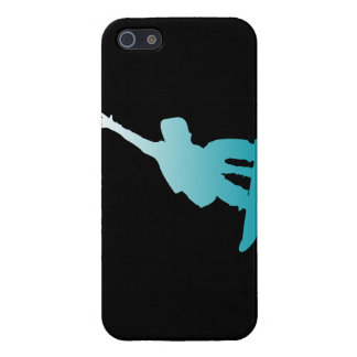 gradient blue snowboarder iPhone 5/5S covers