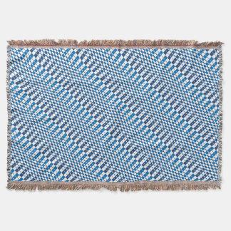 Gradient Blue Throw Blanket