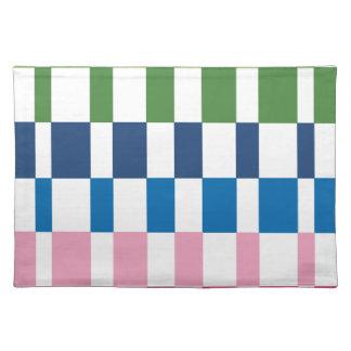 gradient colours placemat