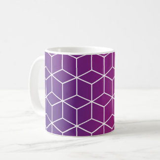 Gradient Cube Pattern on Mug