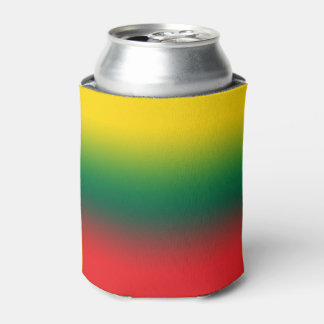 Gradient flag of Lithuania colors Can Cooler