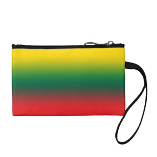 Gradient flag of Lithuania colors Coin Purse