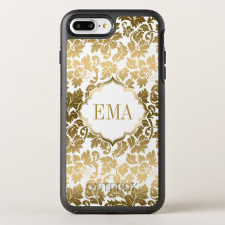 Gradient Gold Damask Pattern OtterBox Symmetry iPhone 8 Plus/7 Plus Case