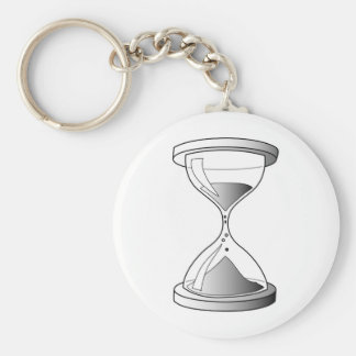 Gradient Hourglass Key Ring
