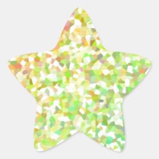 Gradient mosaic シール・ステッカー