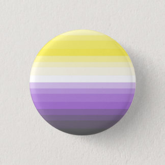 Gradient Nonbinary Pride Flag Button