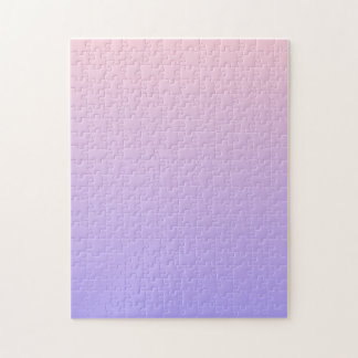 Gradient Pink and Purple Jigsaw Puzzle