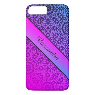 Gradient purple blue iPhone 7 plus case