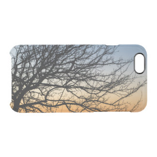 Gradient Sky in Winter Clear iPhone 6/6S Case