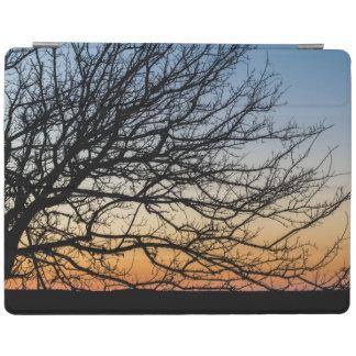 Gradient Sky in Winter iPad Cover