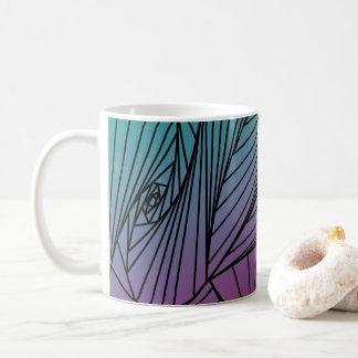 Gradient Spiral Pattern on a Mug