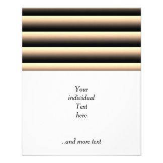 gradient stripes flyer