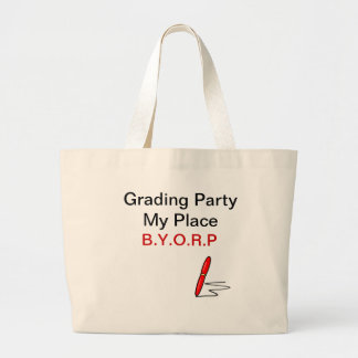 Grading Party Tote Tote Bags