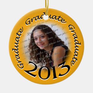 Graduate 2013 Photo Keepsake Christmas Tree Ornament