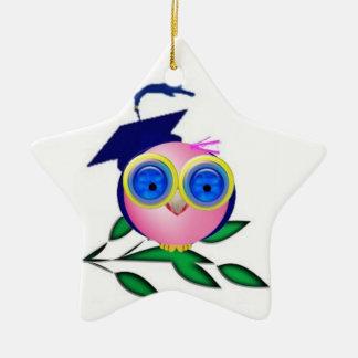 Graduate Ceramic Star Decoration
