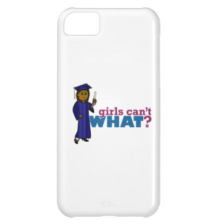 Graduate Girl in Blue Gown iPhone 5C Cases