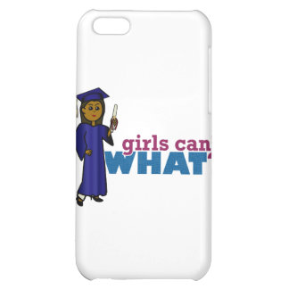 Graduate Girl in Blue Gown iPhone 5C Cover