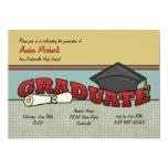 Graduate Invitation 13 Cm X 18 Cm Invitation Card