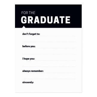 Graduate Keepsake | Advice Cards