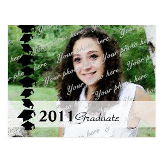 Graduate Photo Invitation Postcard
