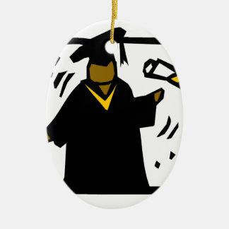 Graduate Receiving Diploma (1) Ornaments