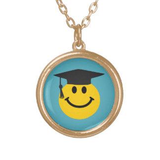 Graduate smiley face custom jewelry