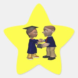Graduate Star Sticker