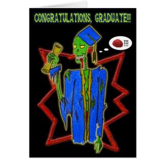 graduate  zombie card