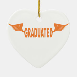 Graduated Ceramic Heart Decoration