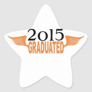 Graduated Star Sticker