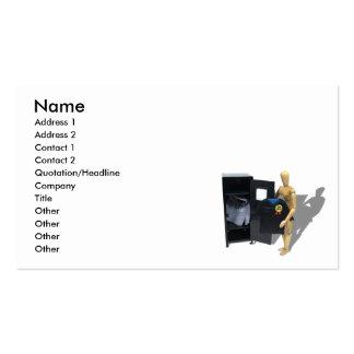 GraduateLocker051009shadows, Name, Address 1, A... Pack Of Standard Business Cards