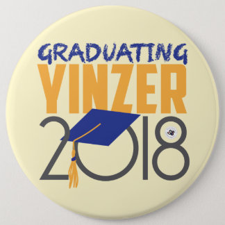 Graduating Yinzer 2018 Mega Pin