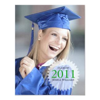 Graduation 11 Cm X 14 Cm Invitation Card