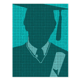 Graduation 2011 Blank Postcard 8 Gown