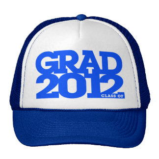Graduation 2012 Hat Blue
