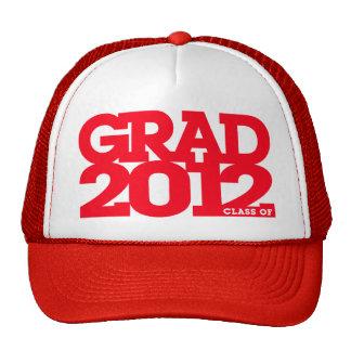 Graduation 2012 Hat Red